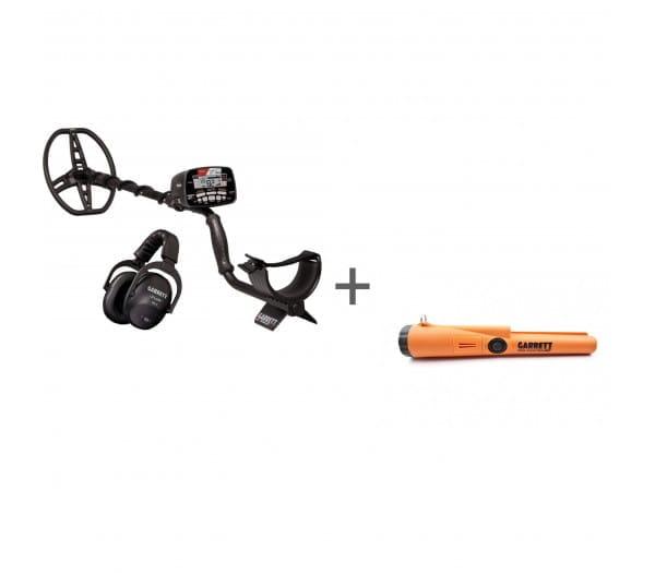 Металлоискатель Garrett AT MAX с наушниками + Пинпоинтер Garrett Pro-Pointer AT