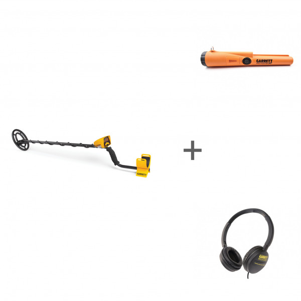 Металлоискатель Garrett ACE 150 RUS + Pro-Pointer AT + наушники