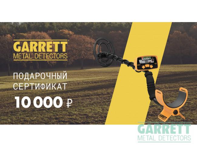 10000 руб.  в фирменном магазине Сертификат
